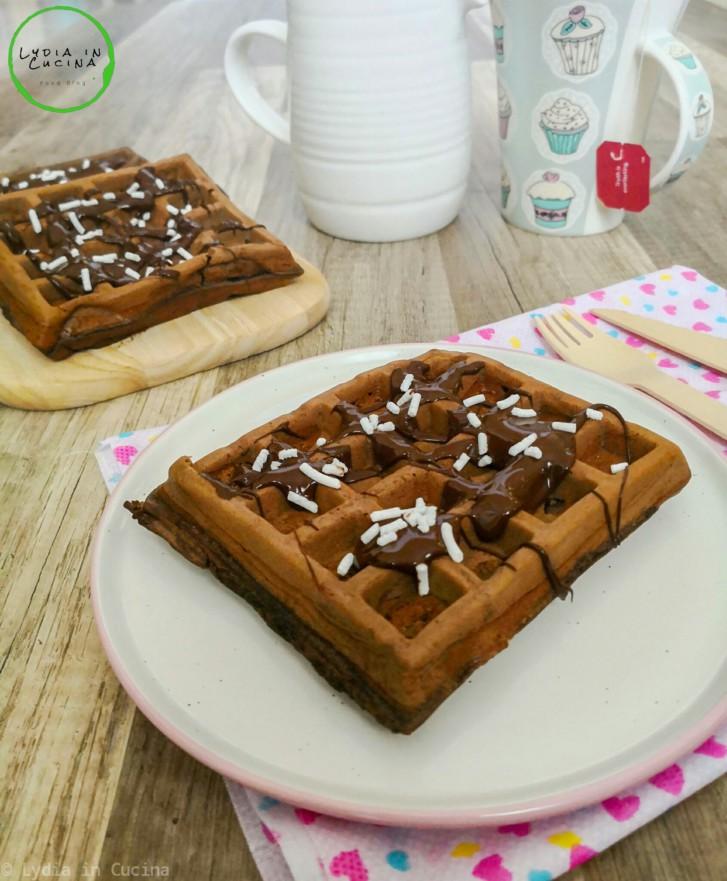waffle al cioccolato