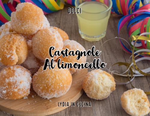 Castagnole al limoncello