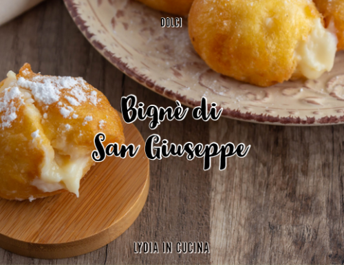 Bignè di San Giuseppe, tipico dolce della cucina romana