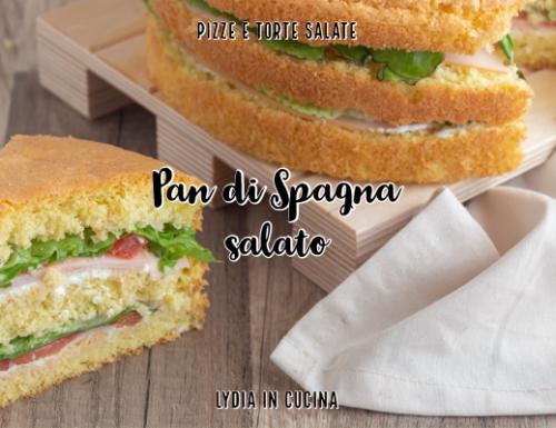 Pan di Spagna salato da farcire