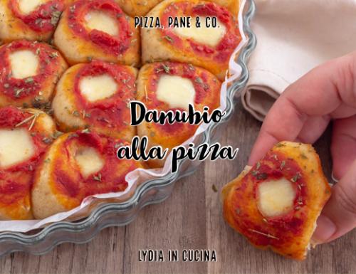 Danubio pizza, ricetta senza burro