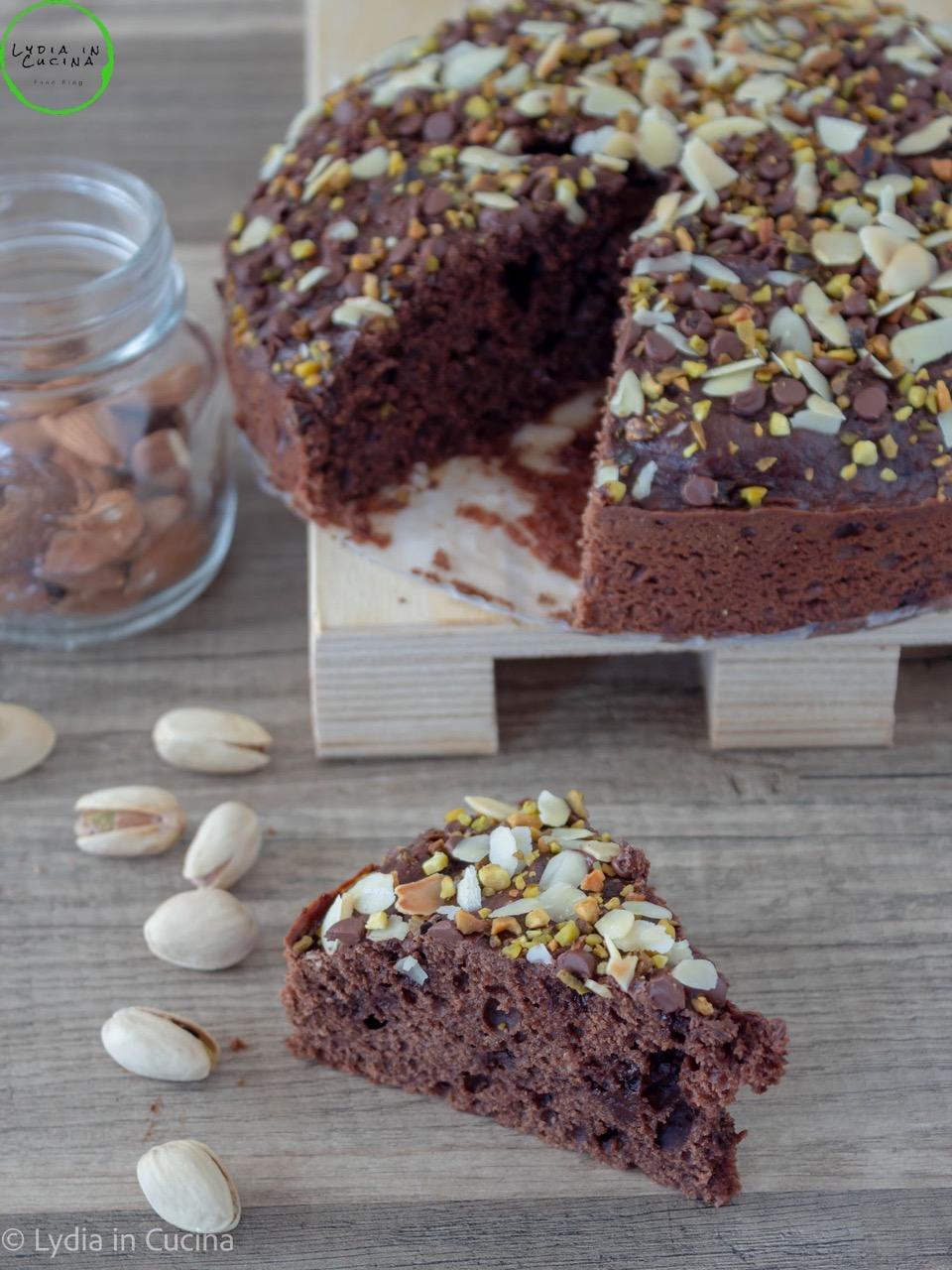 torta alla ricotta e cacao