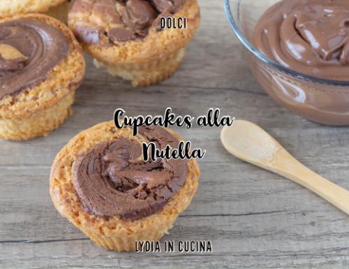 Cupcakes alla Nutella facili e veloci #lecolazionidilydia