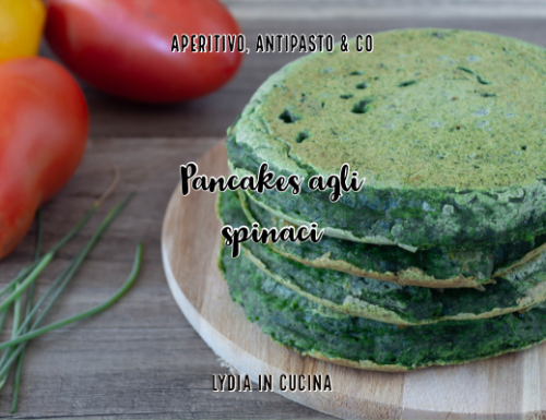 Pancakes agli spinaci senza burro