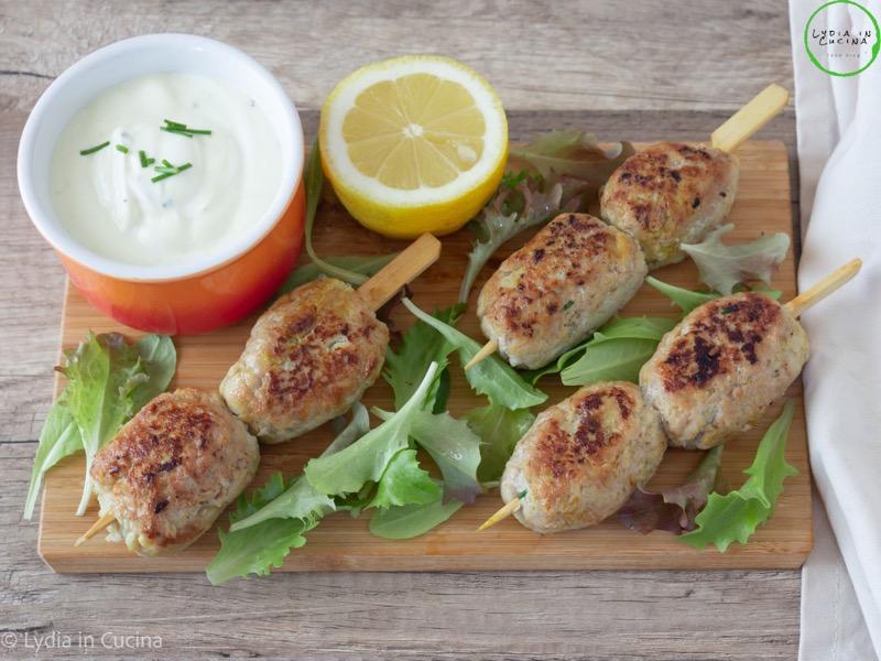 polpette di pollo speziate