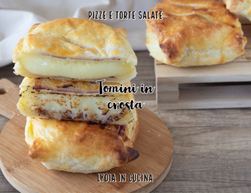Tomini in crosta di pasta sfoglia, ricetta facilissima