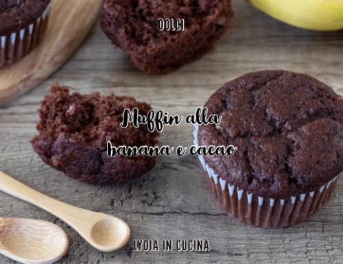 Muffin alla banana e cacao, ricetta facilissima