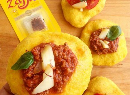 Pizza fritta con zafferano