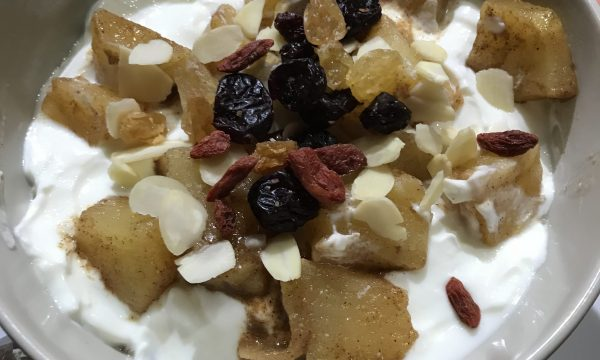 Porridge piccante alla mela
