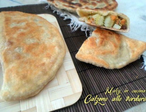Calzone senza lievito – cottura in padella