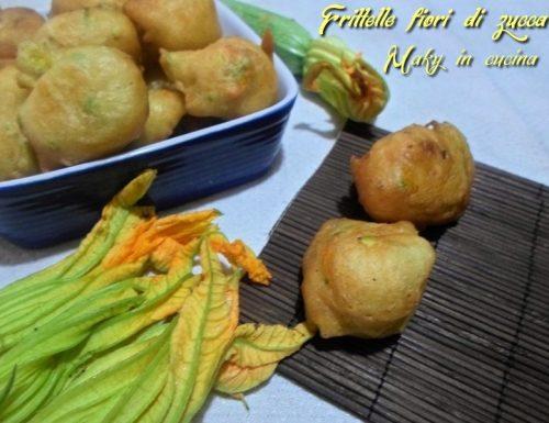 Frittelle fiori di zucca