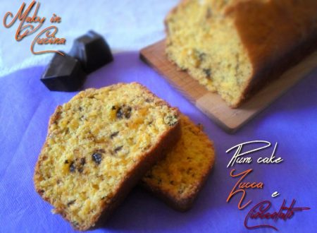 Plum cake zucca e cioccolato