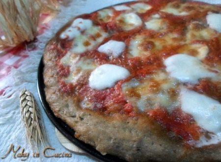 Pizza margherita integrale