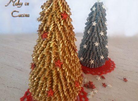 Alberi natalizi fai da te, Christmas tree handmade