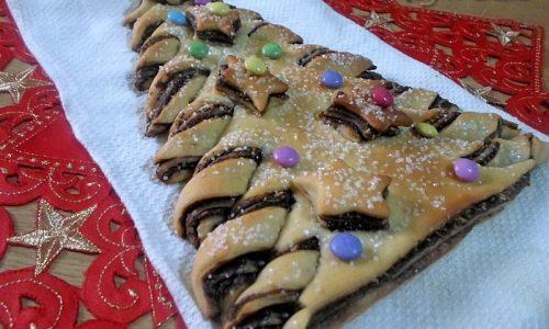 Albero di pan brioche, ricetta natalizia
