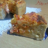 Torta Pizza o Pizza Cake