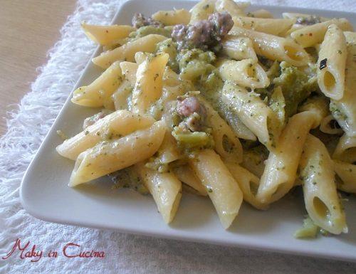 Pennette broccoli e salsiccia