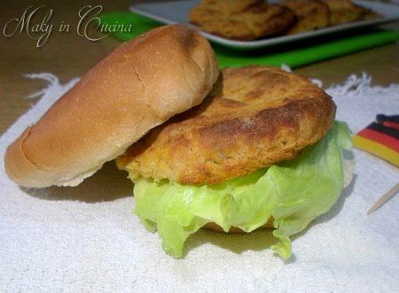 Burger di ceci