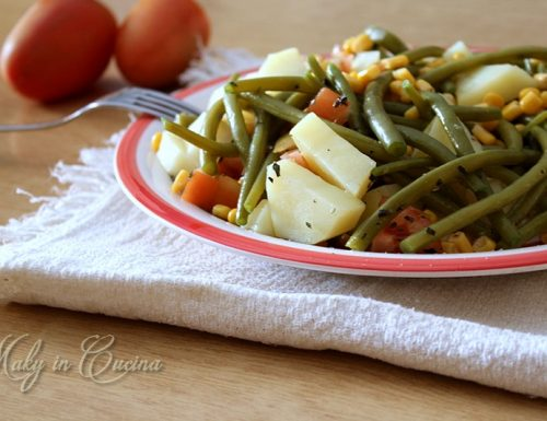 Insalata fredda di verdure
