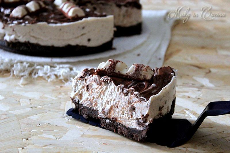 Preferenza Cheesecake kinder bueno, ricetta dolce senza cottura HL69