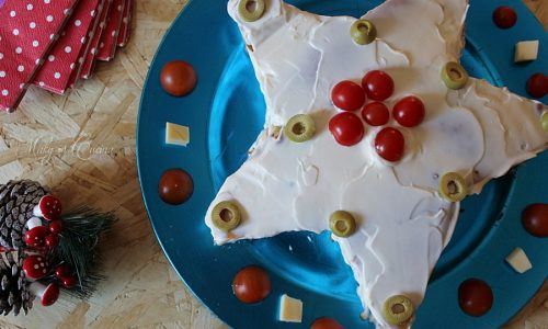 Stella natalizia salata
