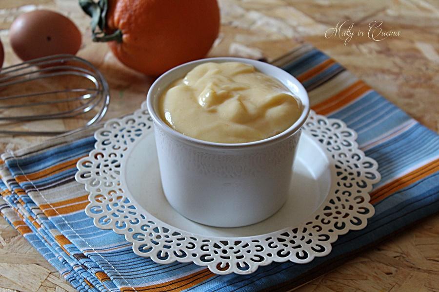 ricetta crema arancia