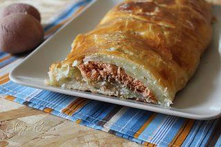 ricetta salmone e patate