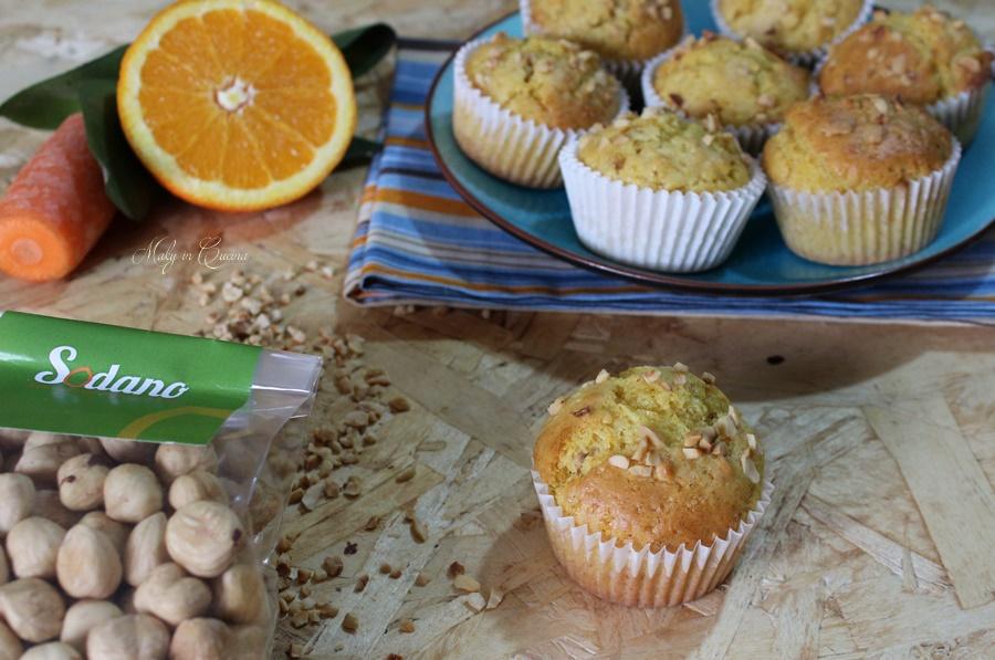 Muffin ace e nocciole