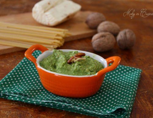 Pesto asparagi noci e ricotta salata