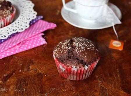 Muffin cacao e cocco