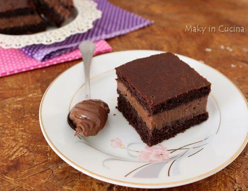 Torta mousse di Nutella e mascarpone