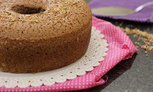 Chiffon cake caffè e nocciole