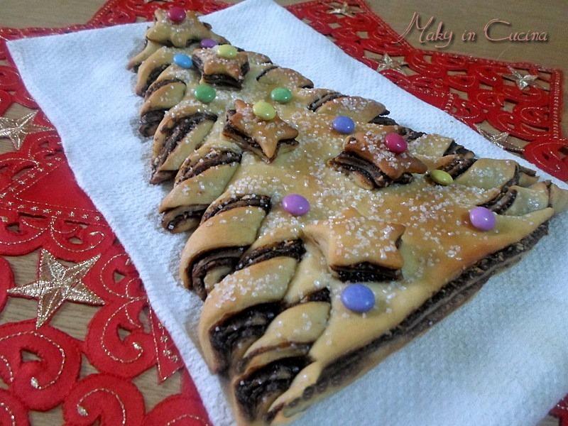 Ricette Bimby Dolci Natalizi.Ricetta Albero Di Natale Bimby Dolce Alla Nutella E Nocciole