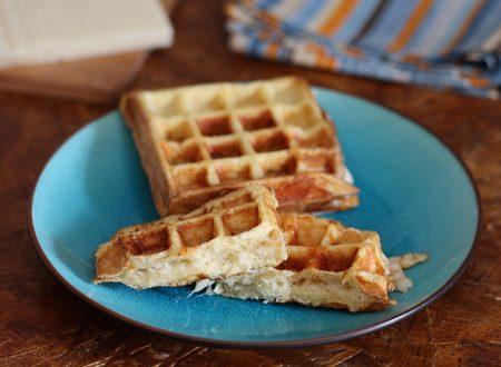 French toast waffle salati