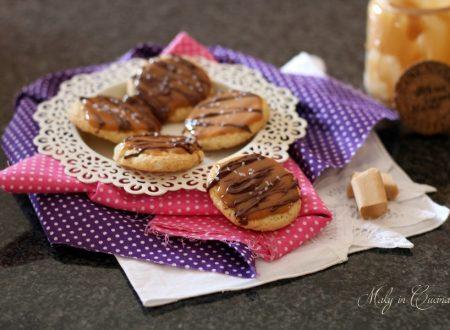 Biscotti caramello e Nutella gusto Twix
