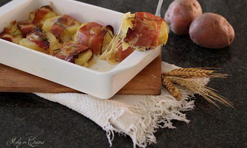 Bocconcini di patate speck e provola