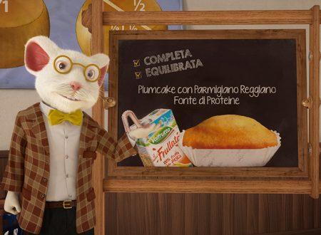 Parmareggio e l'ABC della merenda con Plumcake