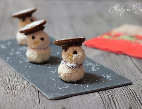 Pupazzi di neve dolci