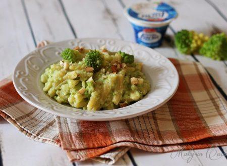 Casarecce cremose broccoli ricotta e mandorle