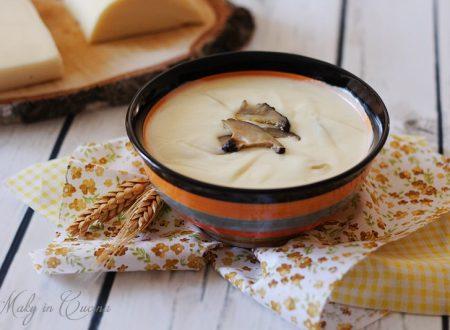 Crema ai 4 formaggi e funghi