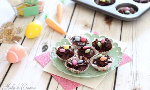 Nidi al cioccolato di Pasqua