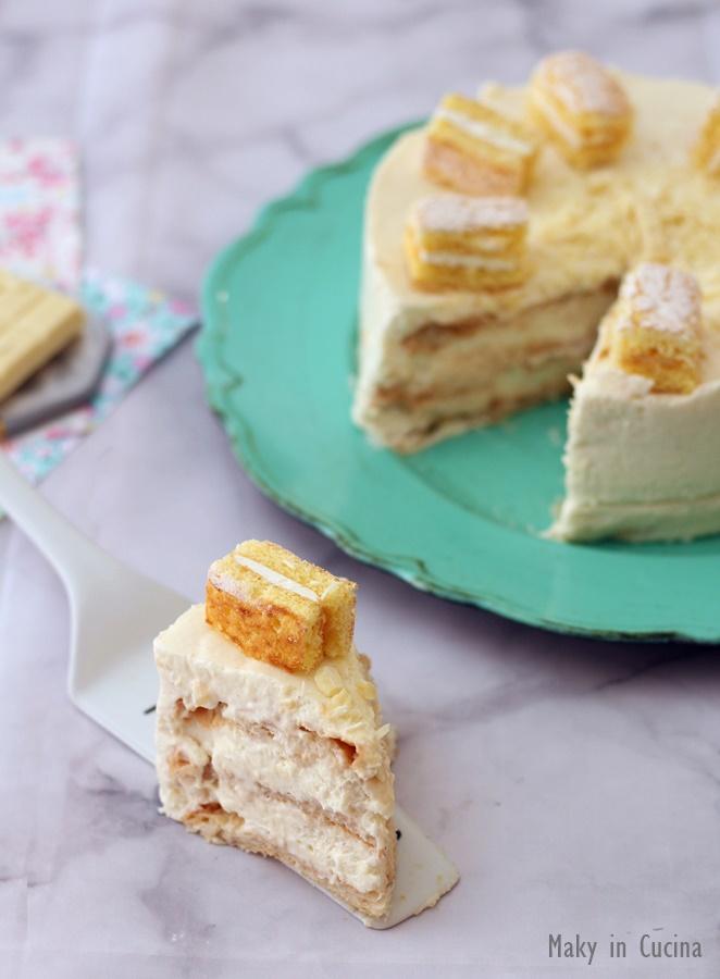 cheesecake sfogliata