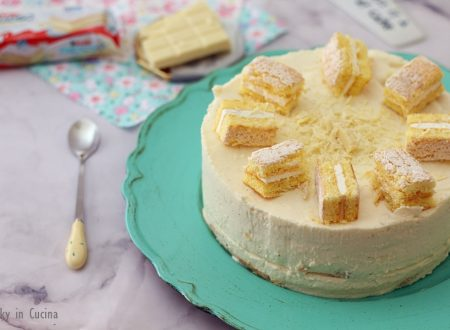 Cheesecake sfogliata Kinder Paradiso