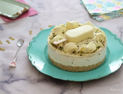 Cheesecake Magnum bianco