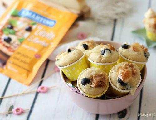 Muffin veloci tonno e olive