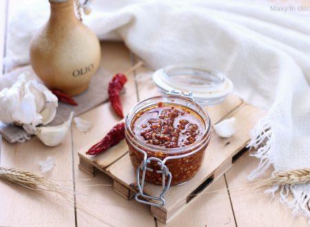 Crema aglio e peperoncino