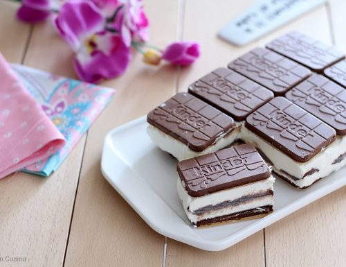 Mattonella Kinder Cards e Nutella
