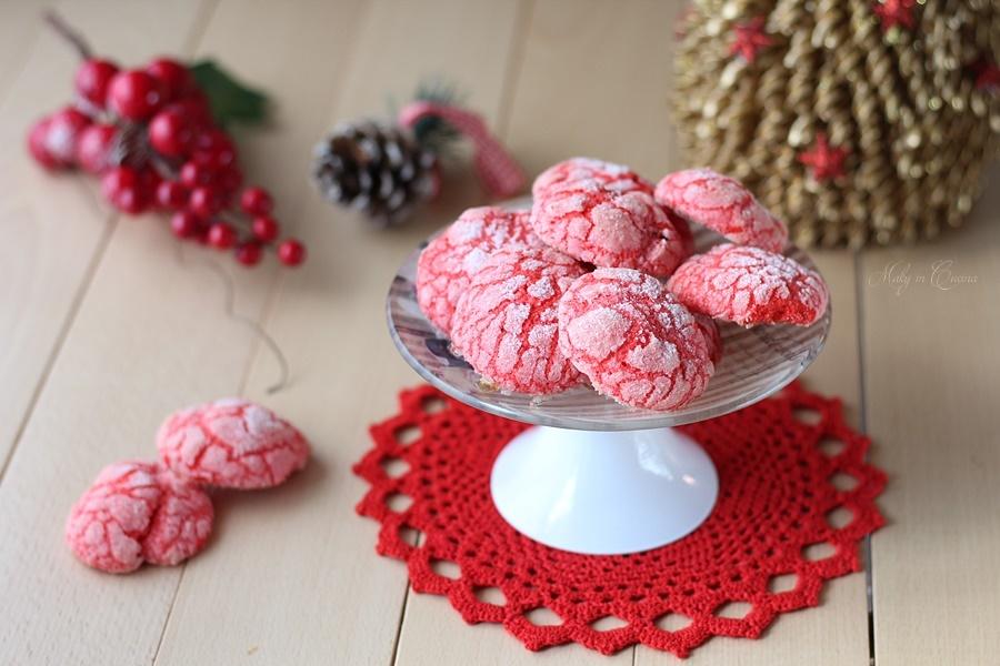biscotti red velvet natalizi