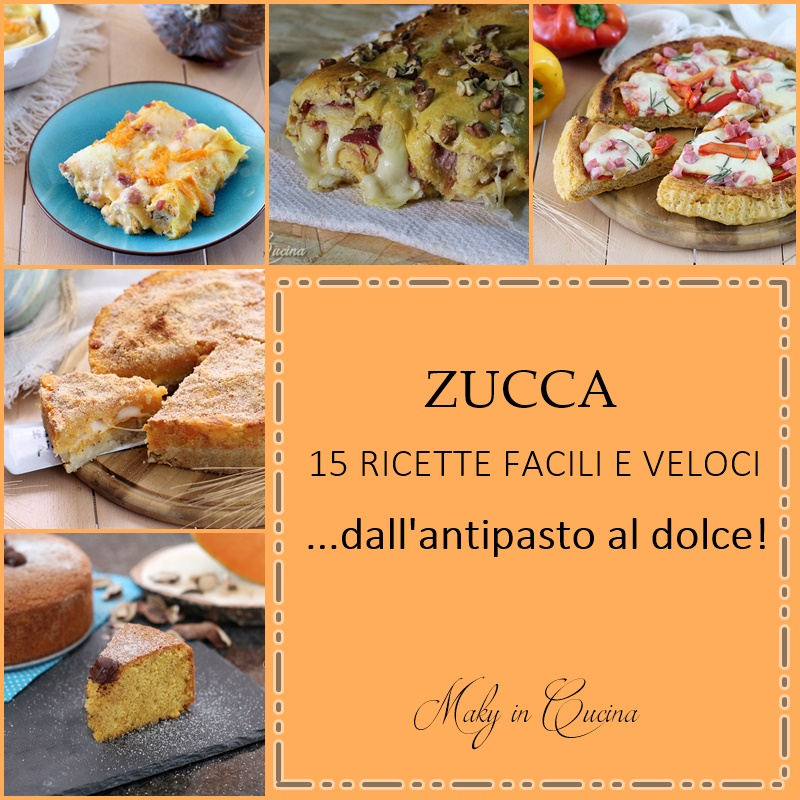 zucca: 15 ricette