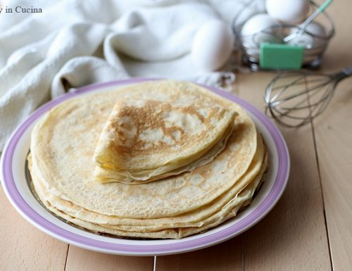 Crepes: ricetta base